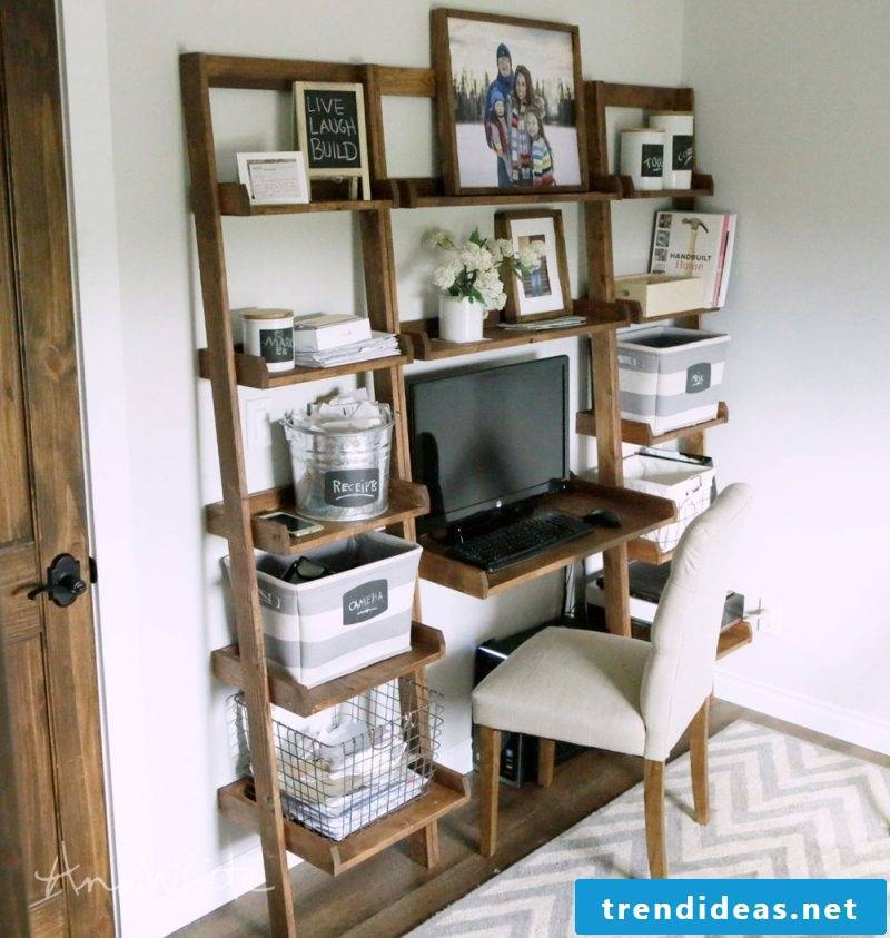 Build your own shelf in the study