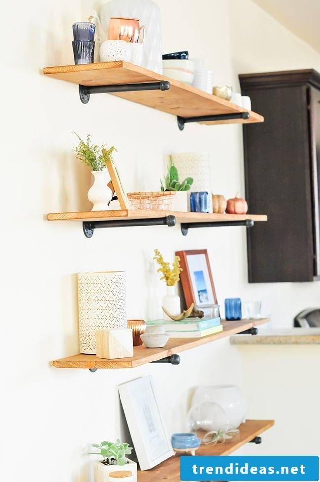 Build your own shelf: the most important home improvement tips for beginners