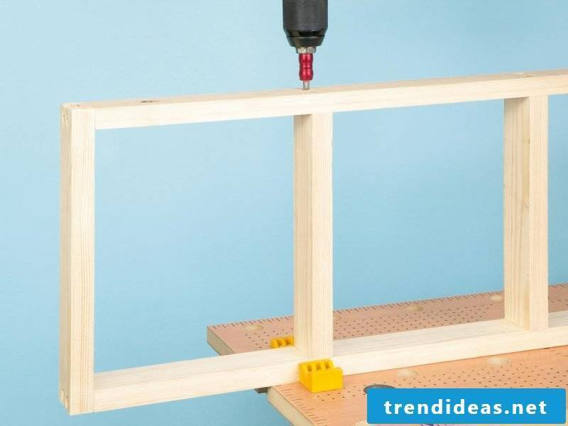 Build wall shelf yourself: DIY instructions