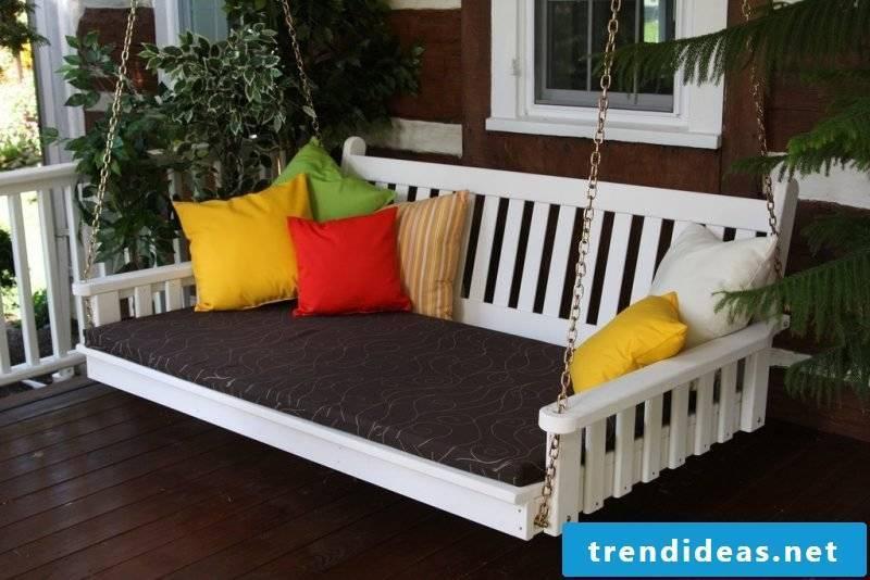 Swing on the terrace