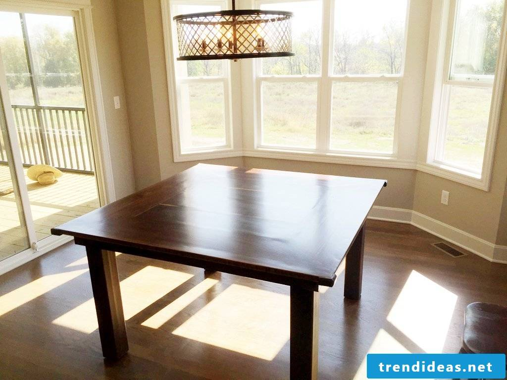 build a table yourself build a dining table yourself