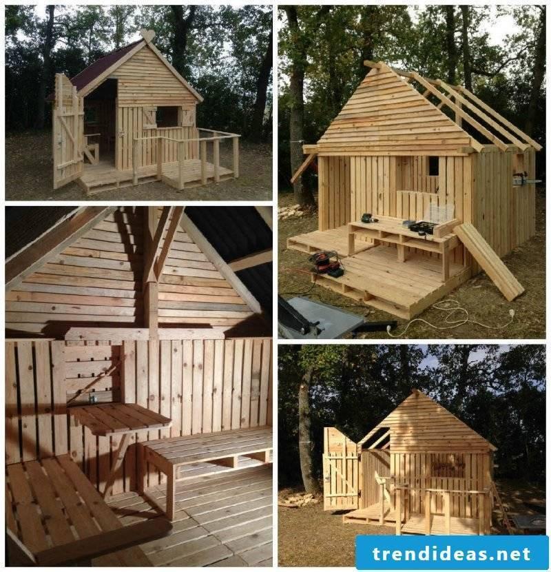 Playhouse garden solid wood