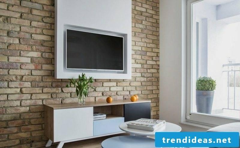 TV wall itself build interesting ideas living room