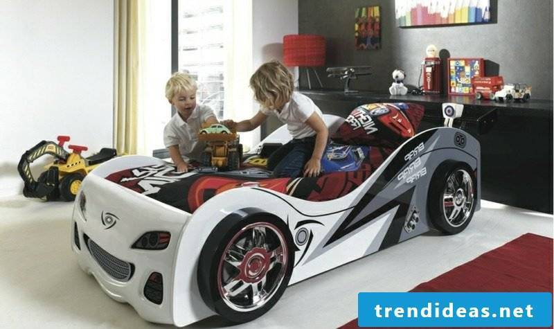 childbed with original design baby boy room