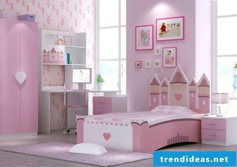with growing cot lock pink
