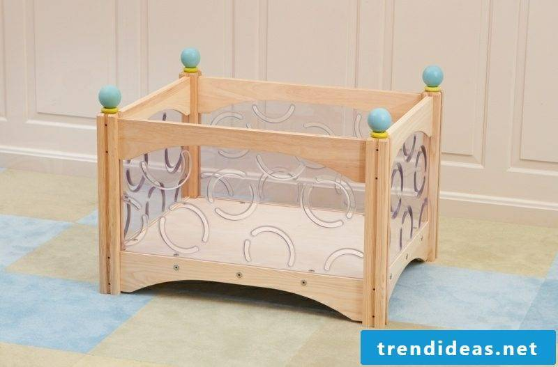 growing baby bed modern design