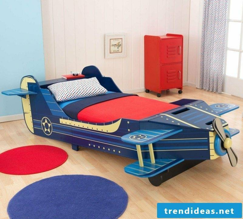 growing baby bed airplane boy room plane