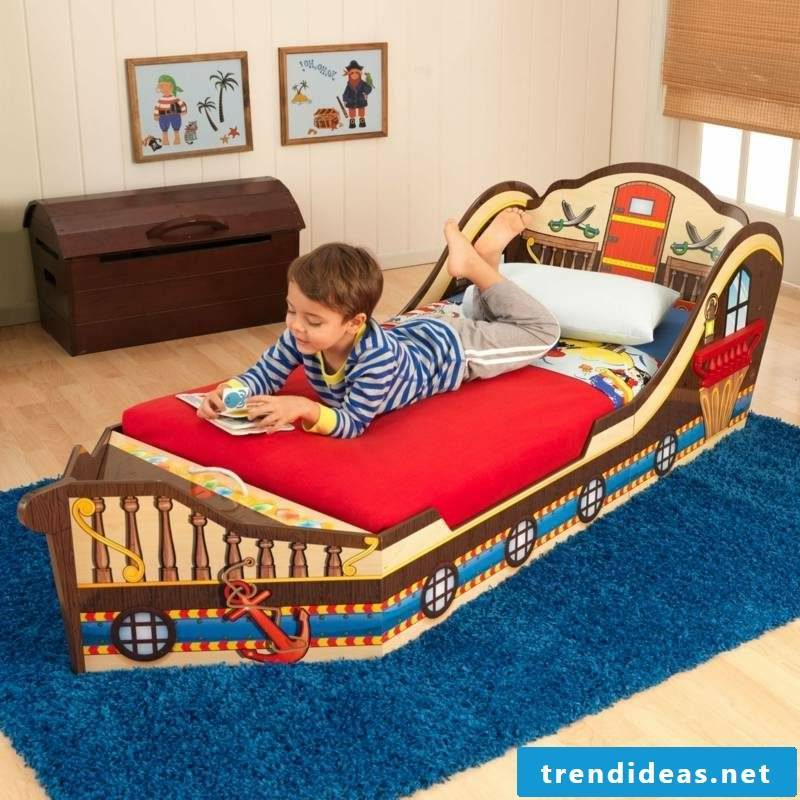 growing baby bed pirate ship