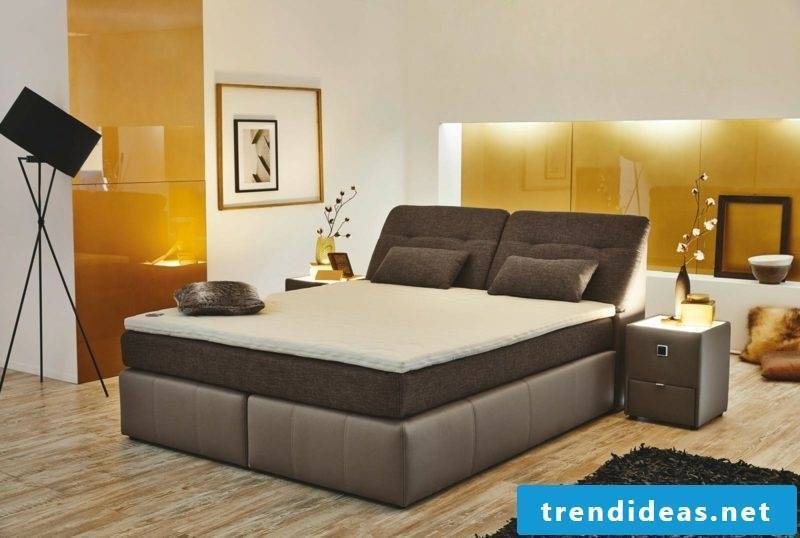 Queen size bed different types boxspring bed