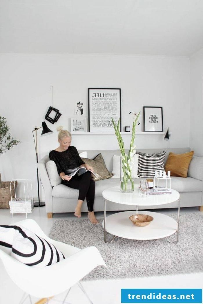 Designer sofas in Scandinavian style
