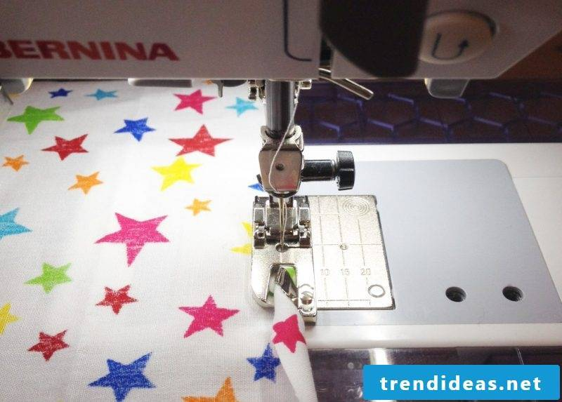 Curtain sew types