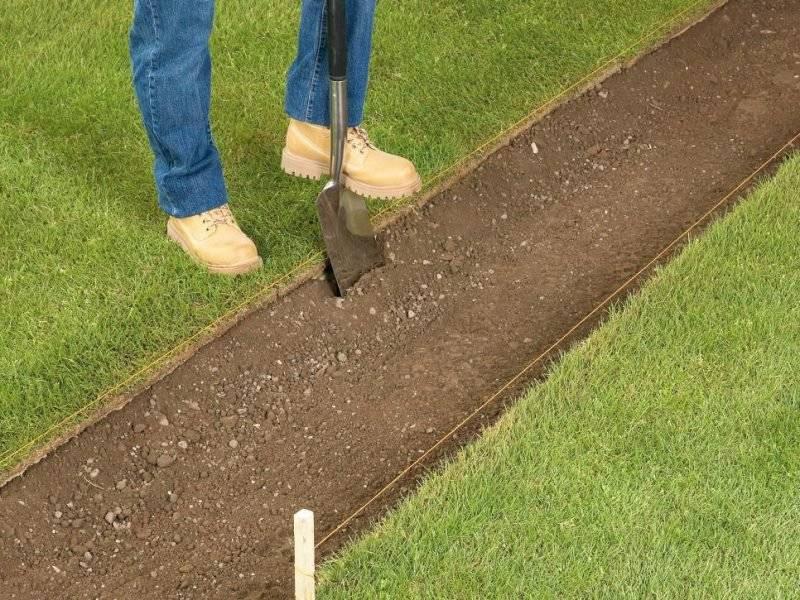 Creating a gravel garden - Instructions Step 1