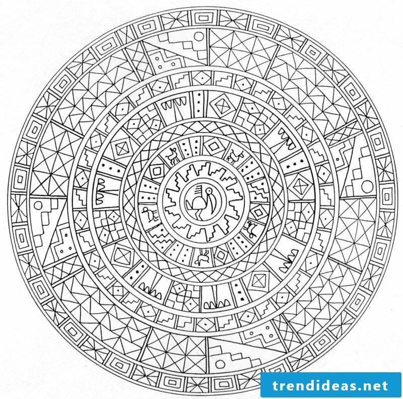 mandala templates increase in strength
