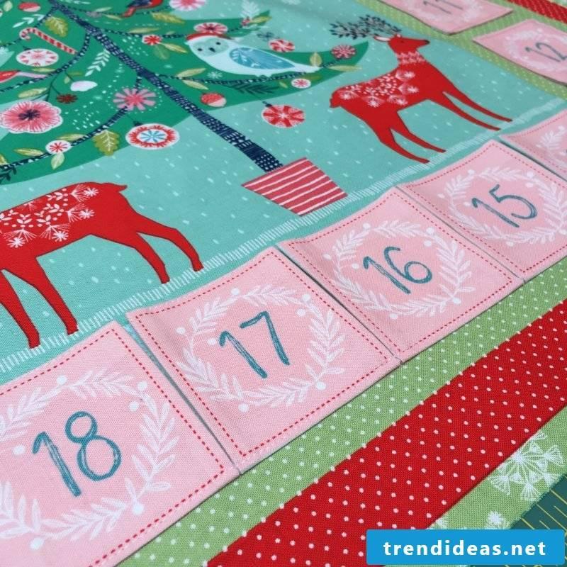 Sew Advent Calendar - Instructions Step 6