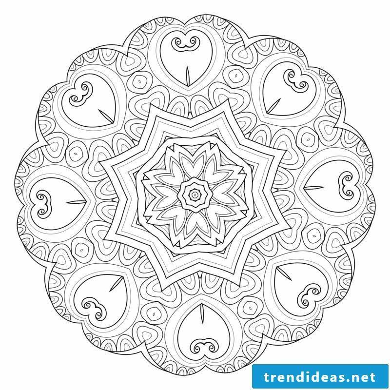mandala templates concentration