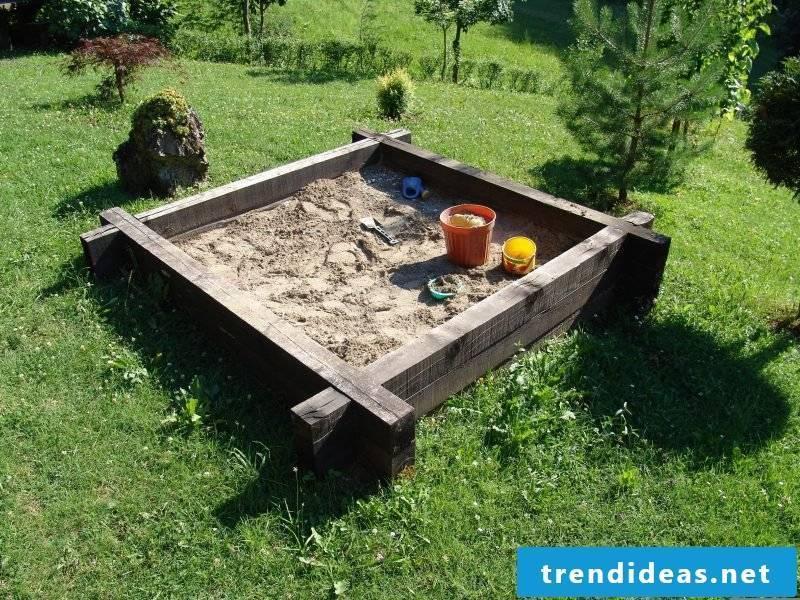 Sandbox build DIY project