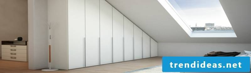 closet roof pitch huge wardrobe