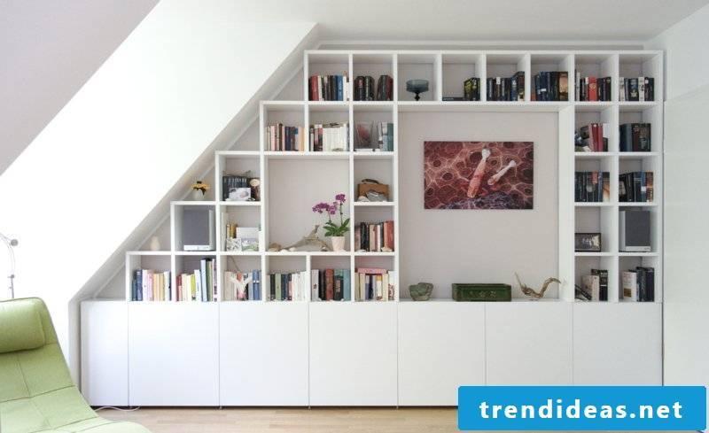cabinet sloped modern