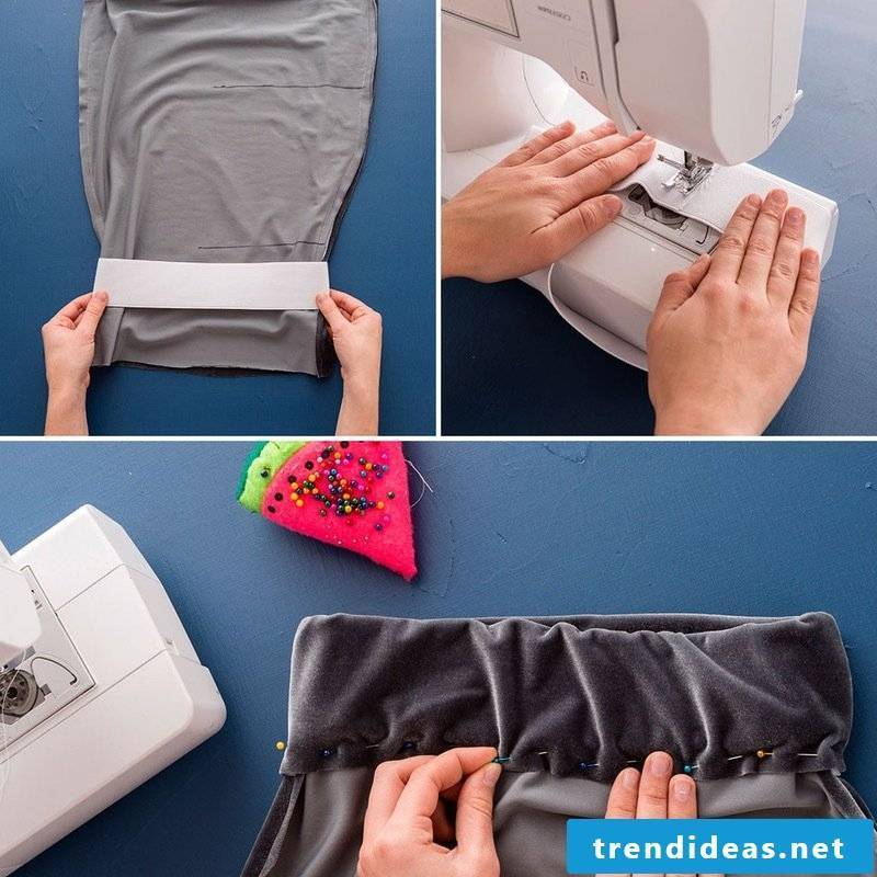sewing ideas for beginners skirt self-sewing instructions