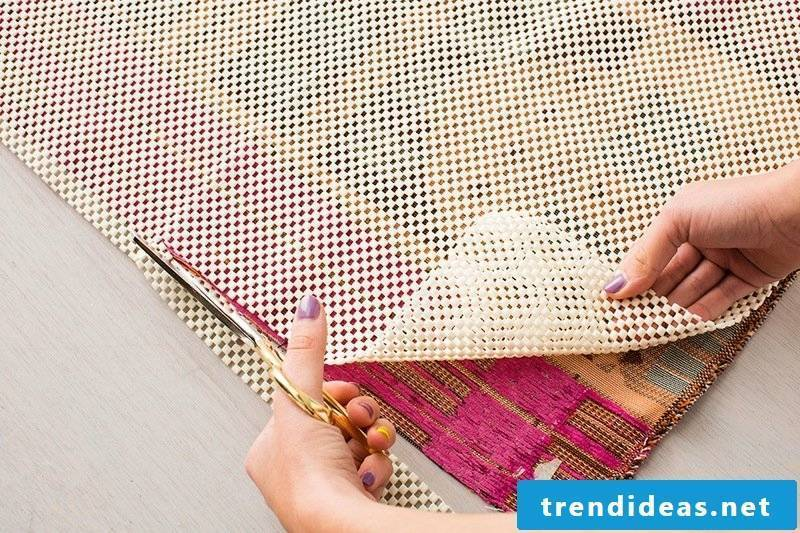 Sewing the carpet yourself instructions for beginners