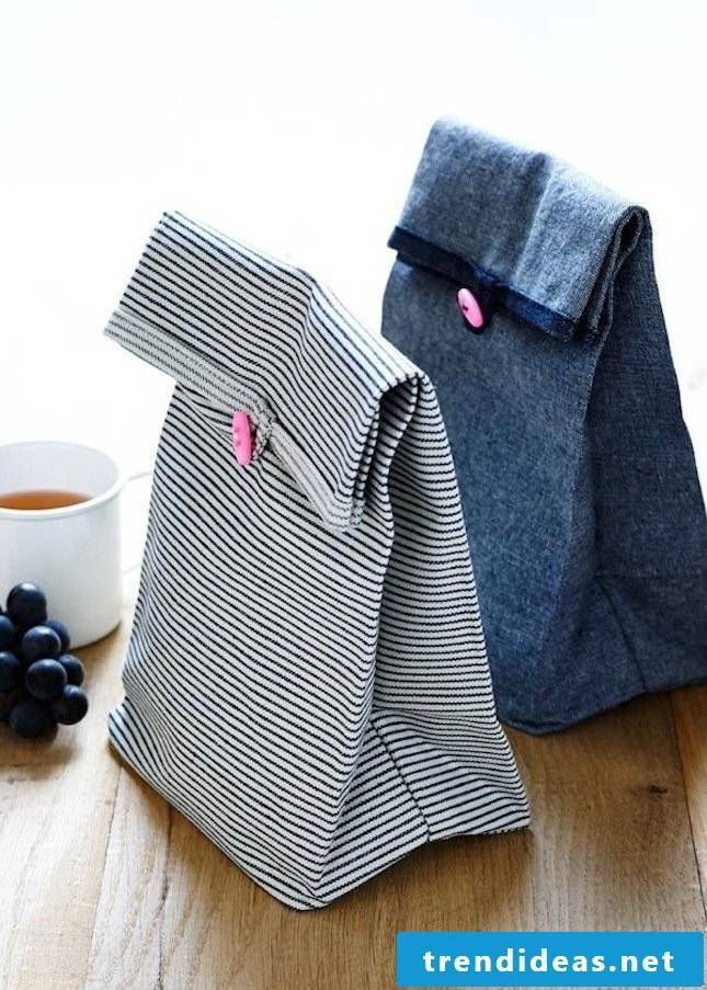 sewing ideas for beginners sewing lunchtüte