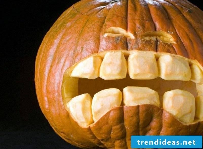 Pumpkin Face Funny Decoration Ideas Halloween