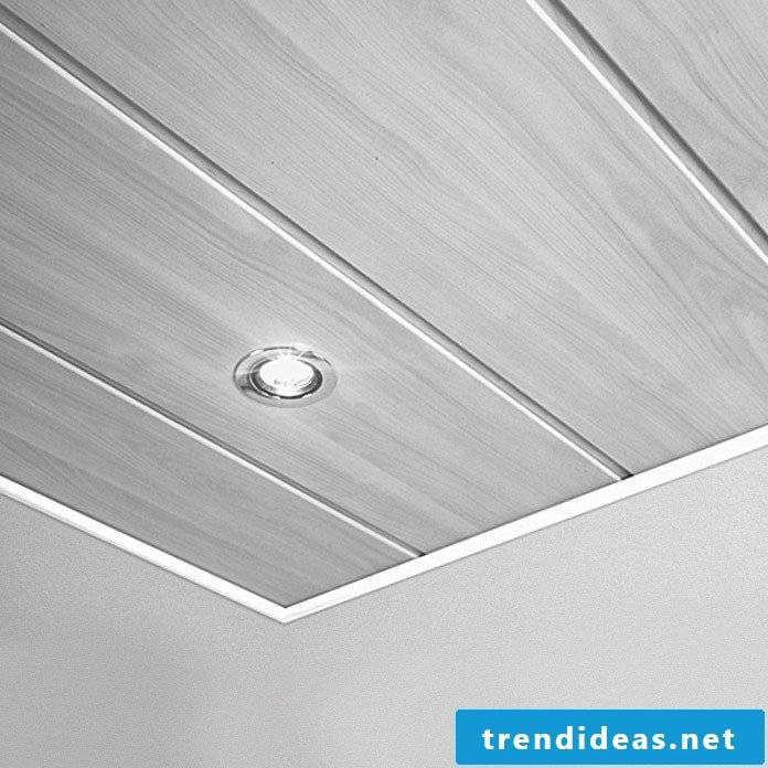 ceiling covering without joints