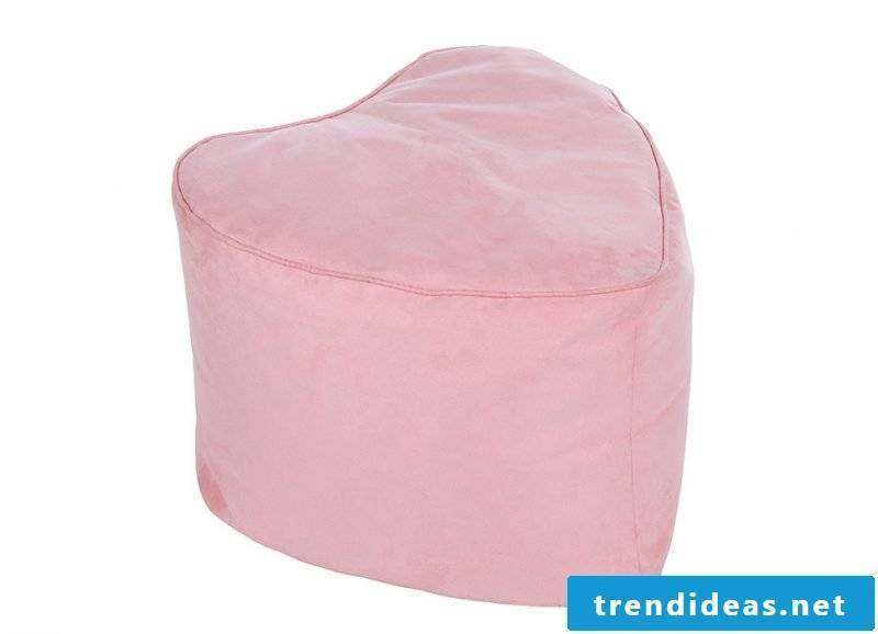 Heart beanbag for Valentine's Day!