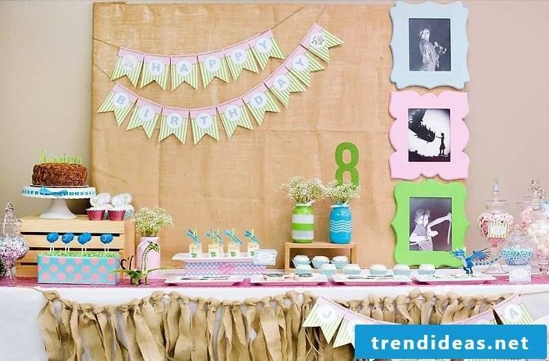 great children's birthday decoration make fascinating ideas