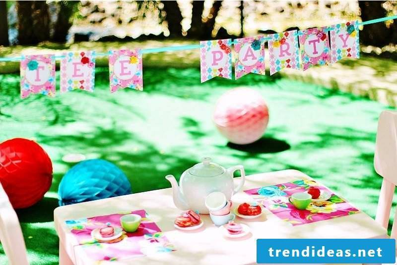 Children's birthday decoration make organize theme party