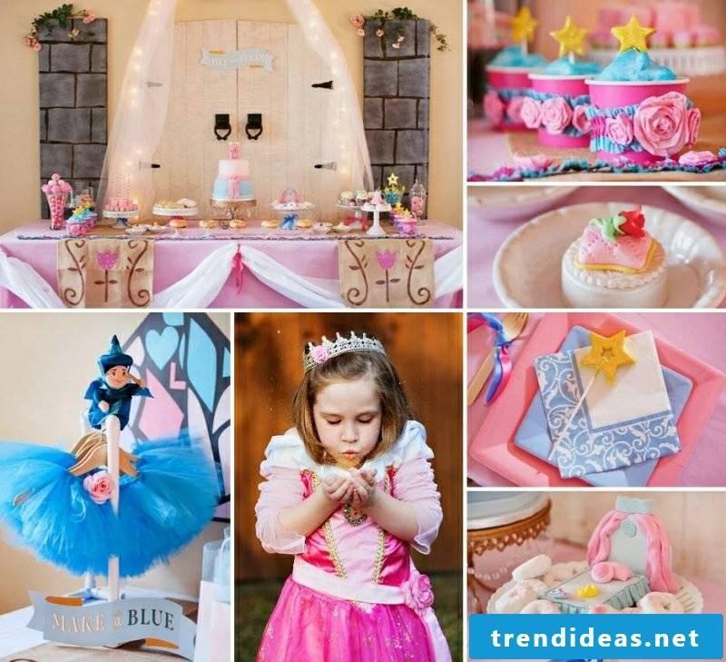 Kids birthday deco tinker little princess