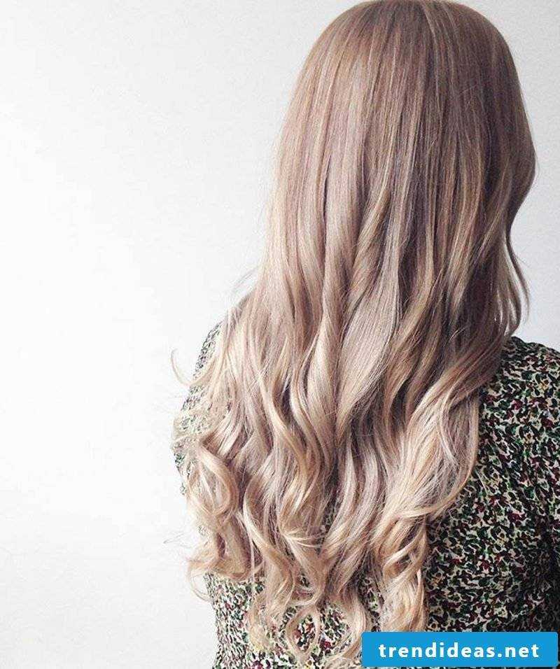blond hair colors champagne blonde