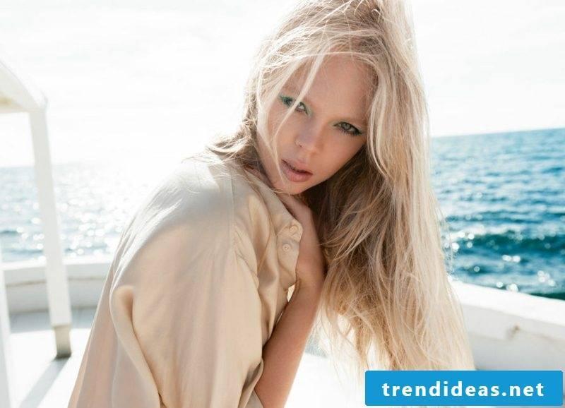 light blonde hair Nuance Sandblond
