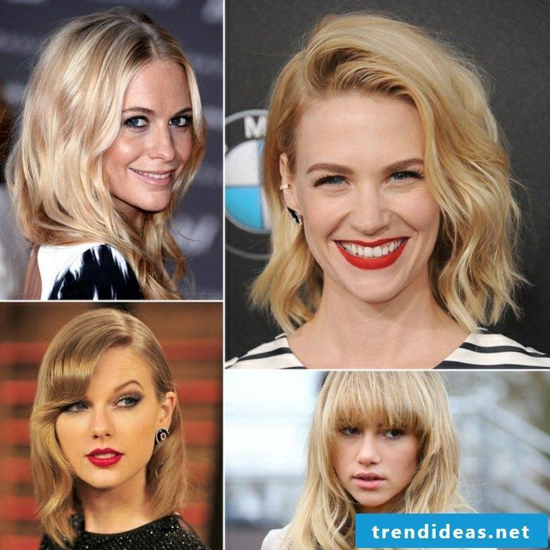 blond hair different nuances