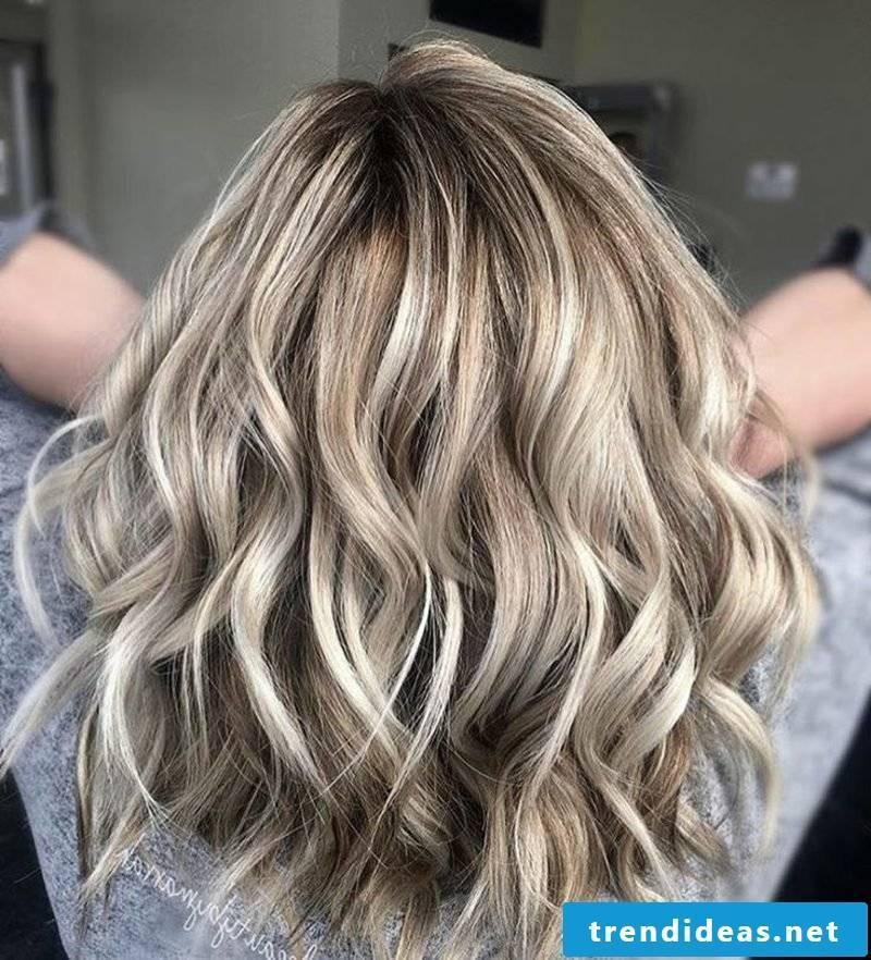 Hair colors Nuance beige blond