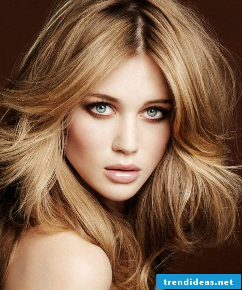 blonde hair beige blonde