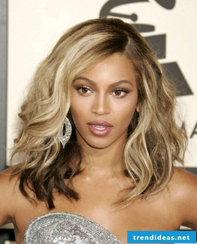 blond hair dark skin Beyonce