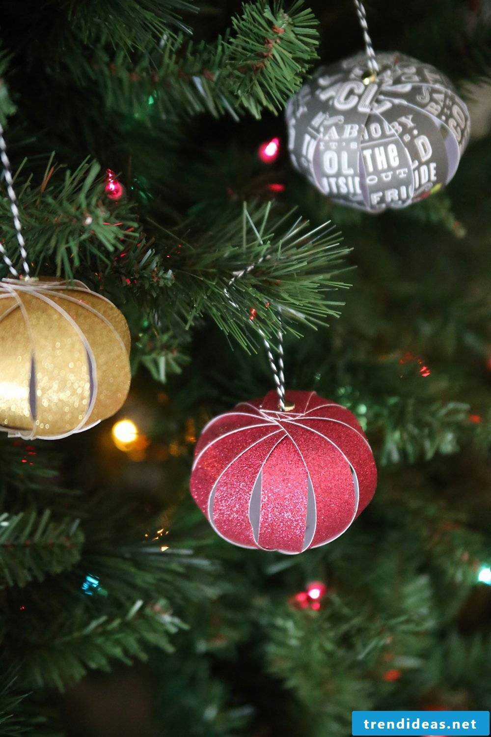 Crafting ideas for Christmas - Christmas crafts with children