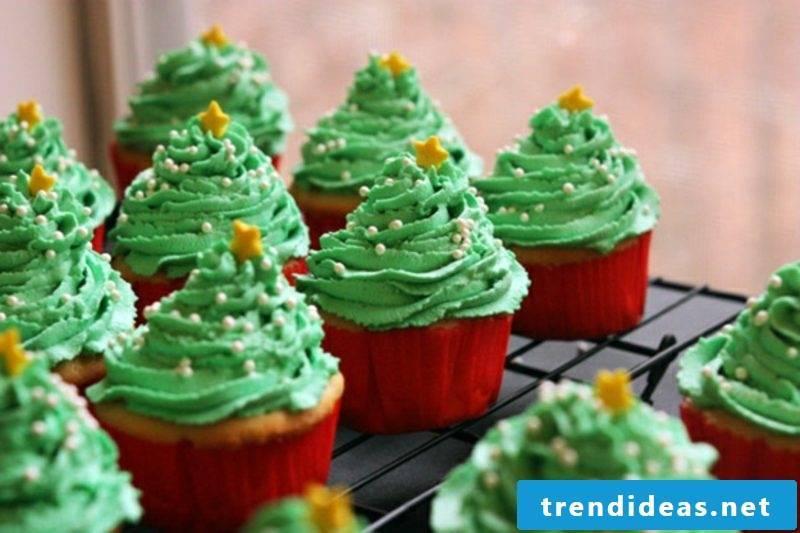 cool christmas cupcakes recipes for christmas christmas tree cupcakes