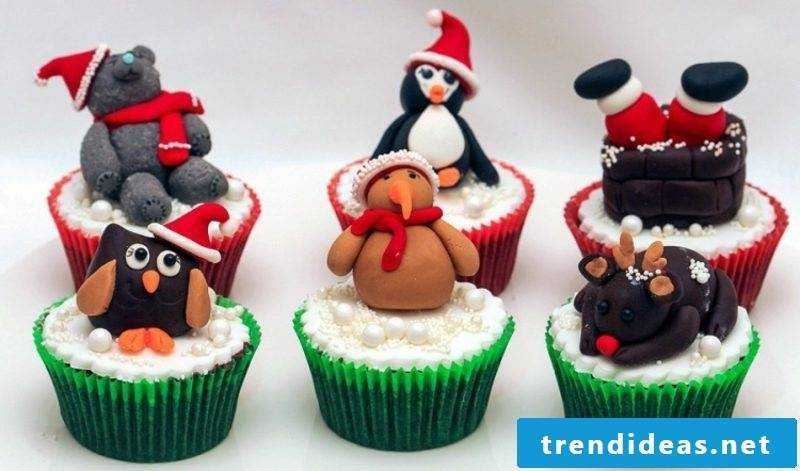 cool christmas cupcakes christmas ideas cute animals cupcakes
