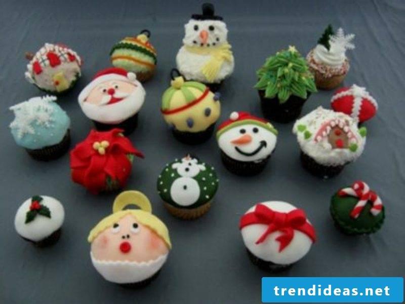 cool christmas cupcake christmas assorted cupcakes