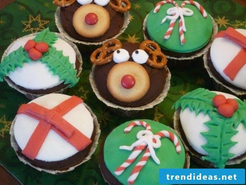 cool christmas cupcakes