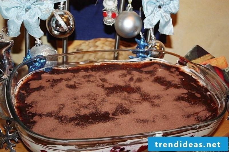 Christmas dinner ideas tiramisu