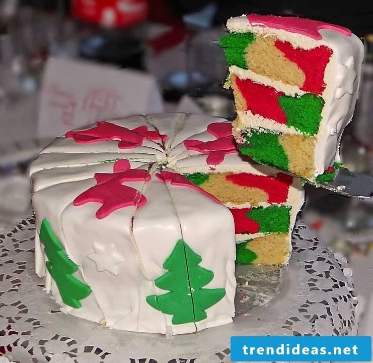 Christmas dinner ideas cake
