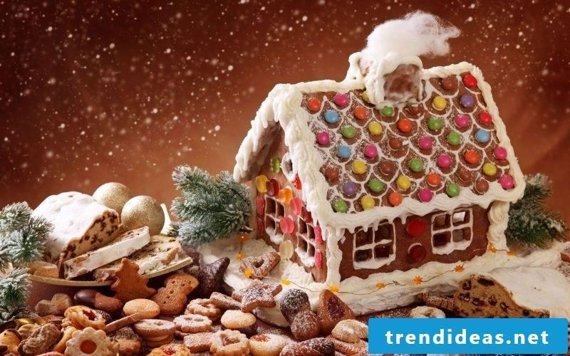 Christmas dinner ideas gingerbread