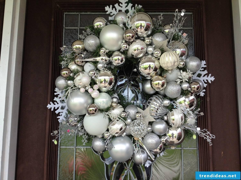 a silver Christmas magic