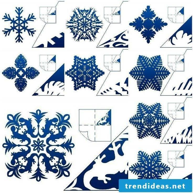 Christmas motives for printing template