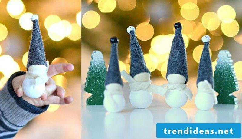 Christmas crafts with children creative ideas with wooden beads