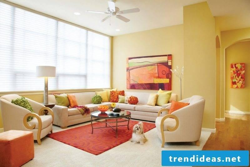 Which colors match interior design