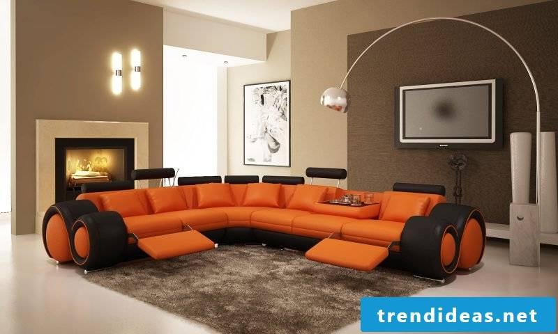 Which colors match Orange Beige